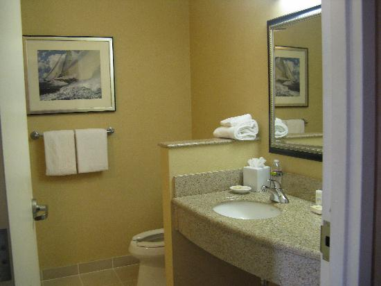 Courtyard by Marriott Boston Copley Square: Bathroom