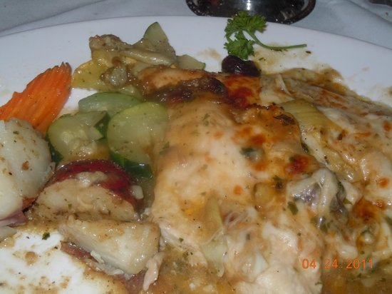 Stony Point, นิวยอร์ก: Chicken Margarita with Veggies!
