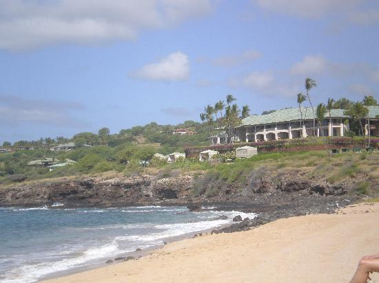 Lanai City, HI: view from beach