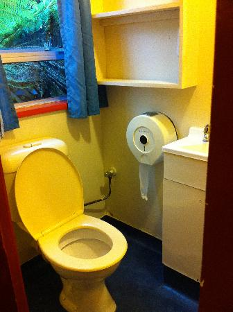 Chateau Franz, Motel & Backpackers: private bathroom