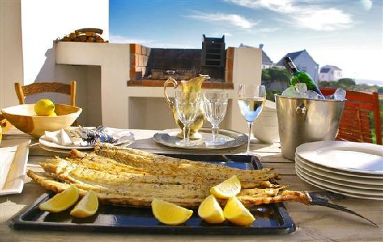Strandloper Sea Villas Paternoster: Fish Braai