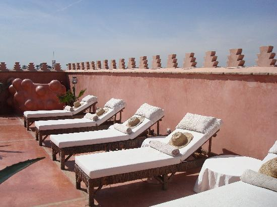 Zamzam Riad: Roof top for sun or drinks