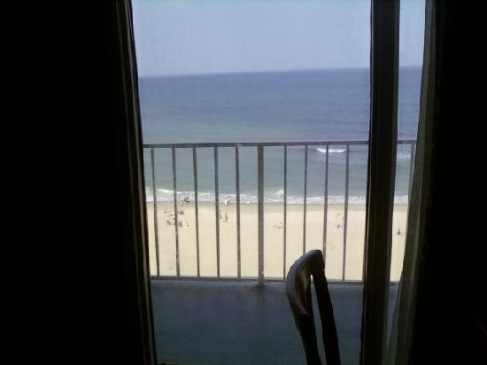 ‪‪Comfort Inn at the Beach‬: View from Kitchen/Living area balcony one of two‬
