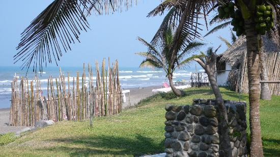 Monte Gordo, Mexico: A view from the pool