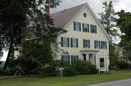 Haverhill, NH: Gibson House Bed and Breakfast
