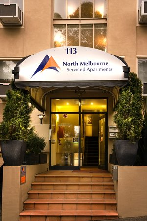 North Melbourne Serviced Apartments: Entrance