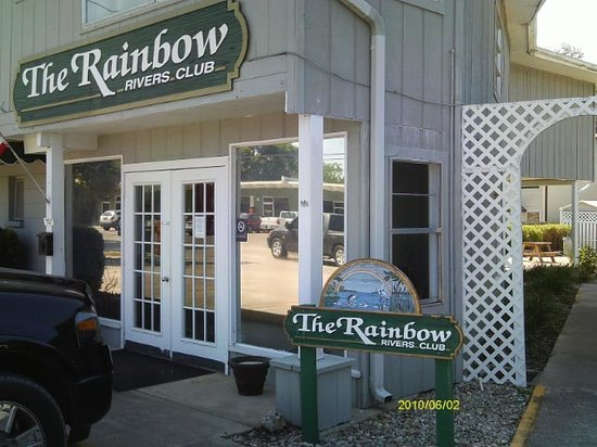 Rainbow Rivers Club: Office on Marina Side