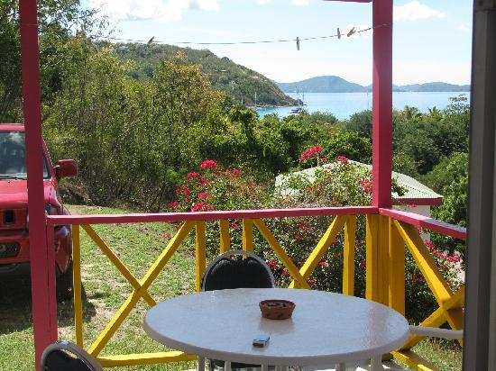 Perfect Pineapple Guest Houses: View from the balcony