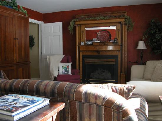 The Ruby of Crested Butte - A Luxury B&B: The Living Room