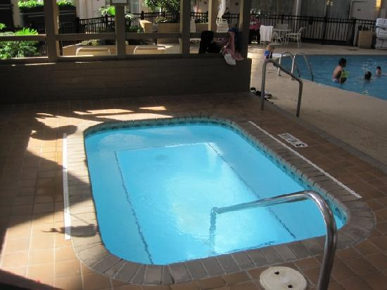 Holiday Inn Cleveland -West: The hot tub