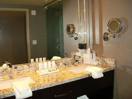 His And Hers Sinks Picture Of Aria Resort Casino Las