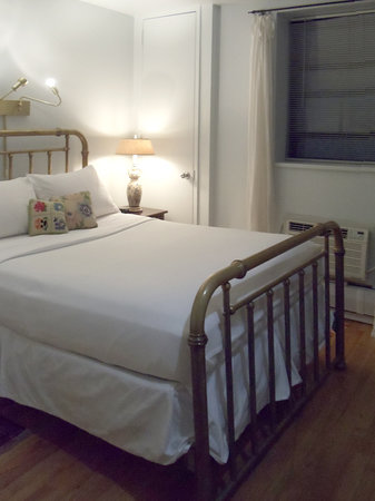 Between the Parks Bed and Breakfast: Your bedroom, with private bath
