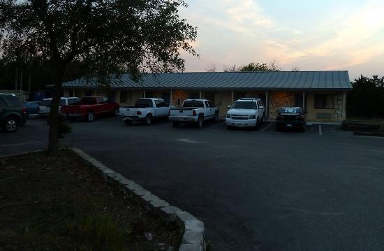 Bandera, TX: View of one of the buildings