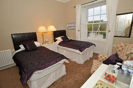 Berwick-upon-Tweed, UK: Twin en-suite room