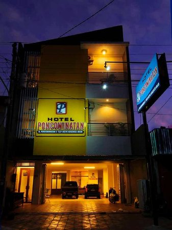 The very nice Hotel Poncowinatan