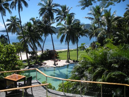 Royal Davui Adas, Fiji: View from dining area!