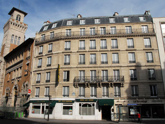 gay hotel lussac paris