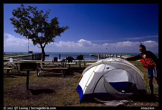 Biscayne National Park, FL: Elliott Key Campground
