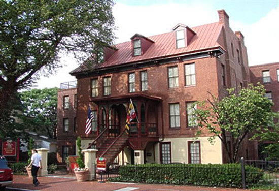 Annapolis, MD: Governor Calvert House