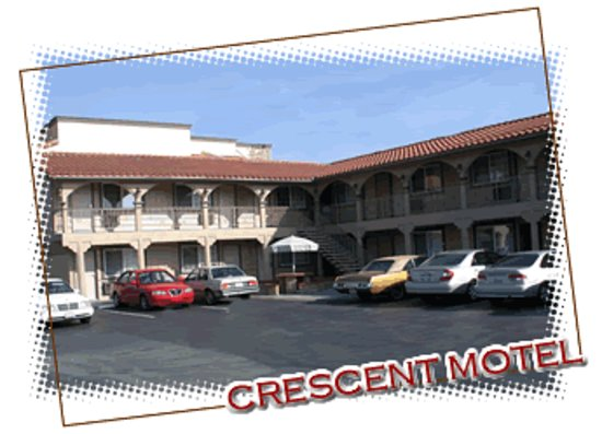 Buena Park, Kalifornia: Crescent Motel