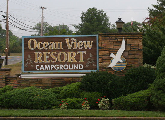 Ocean View Resort Campground To Atlantic City Beach Nj