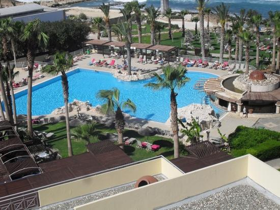 Hotel St. George: pool and sea view room
