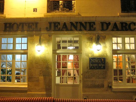 Outside The Hotel Picture Of Hotel Jeanne D 39 Arc Paris
