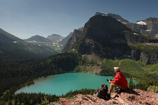 Kalispell, MT : Grinnell Lake, Glacier National Park