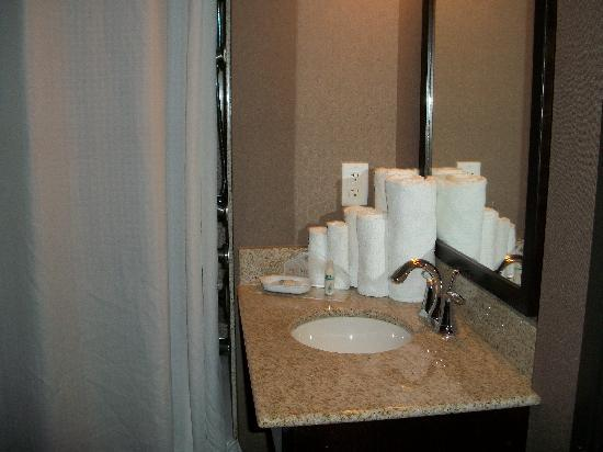 Wingate by Wyndham St. George: Sink/Vanity in bathroom