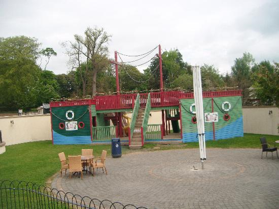 Gorey, Ireland: another play area with slides