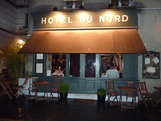 hotel du nord restaurant reviews paris france tripadvisor. Black Bedroom Furniture Sets. Home Design Ideas