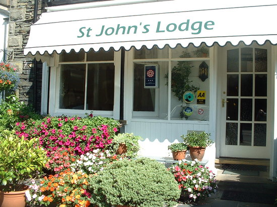 Front view of St John's Lodge