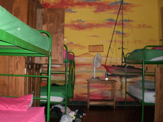 Bigfoot Hostel: The dorm where we stayed