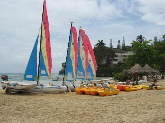Great watersports at Couples Sans Souci