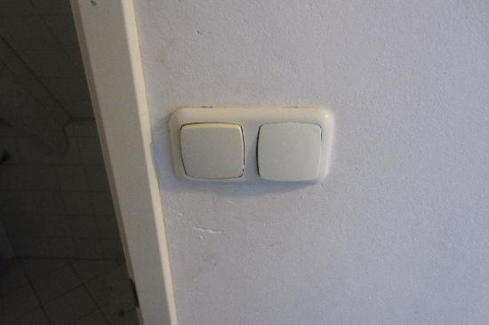 Hotel Plantage: Filthy lightswitches