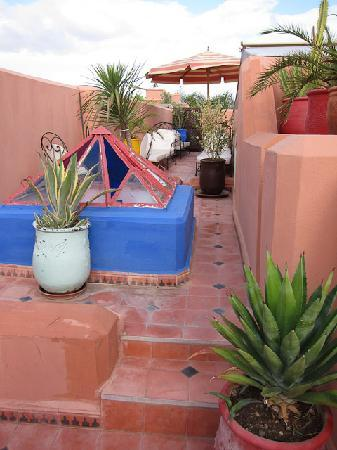 Riad Dar Eliane: The roof terrace
