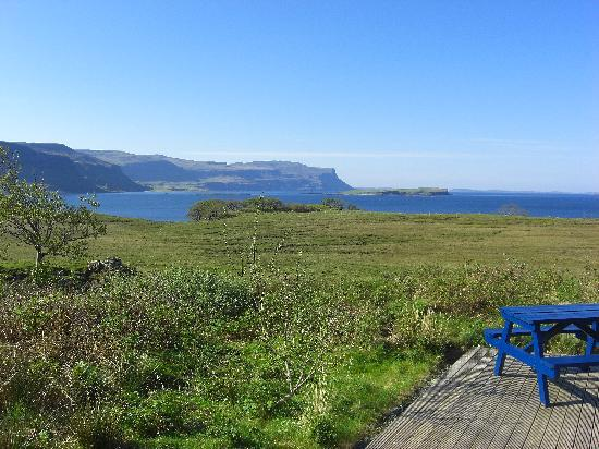 Torr Buan House: Looking out to Loch na Keal