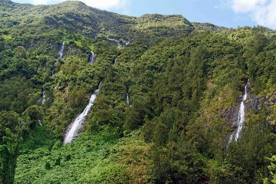 Reunion Island: Wasserflle berall