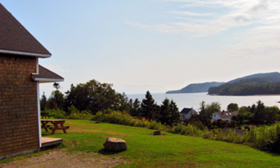 Alma, Canad: View from the Cottage.