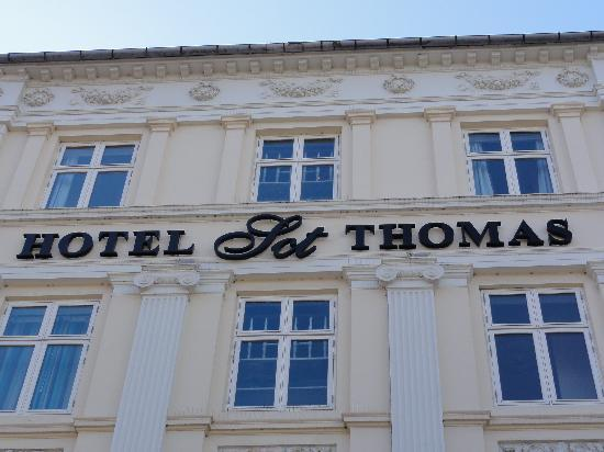 Hotel Sct. Thomas : Front of hotel 