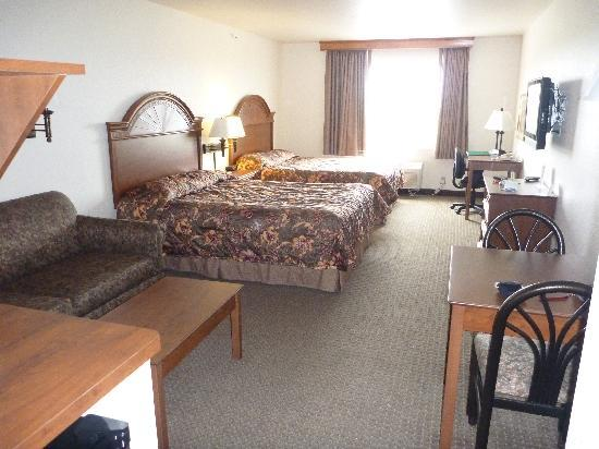 Expressway Suites of Fargo: view of room