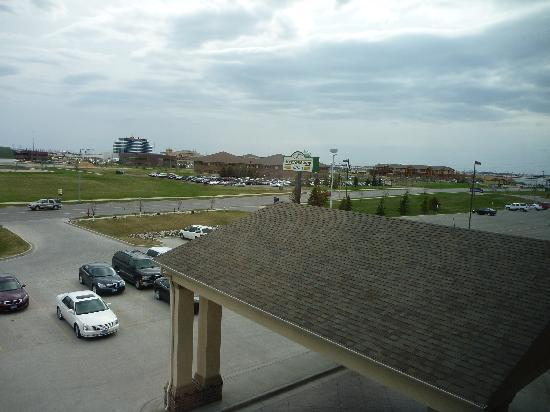 Expressway Suites of Fargo: view from window