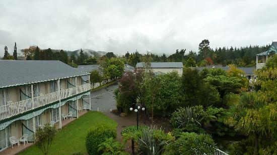 Wairakei Resort Taupo: View from our Balcony