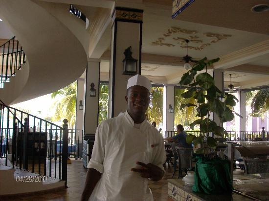Riu Montego Bay Hotel: Garth - chef at MoBay