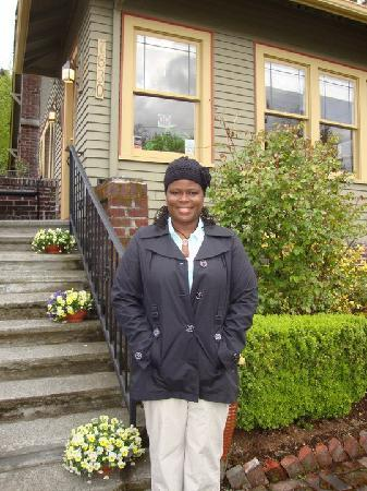 Greenlake Guest House: Me at the B&B