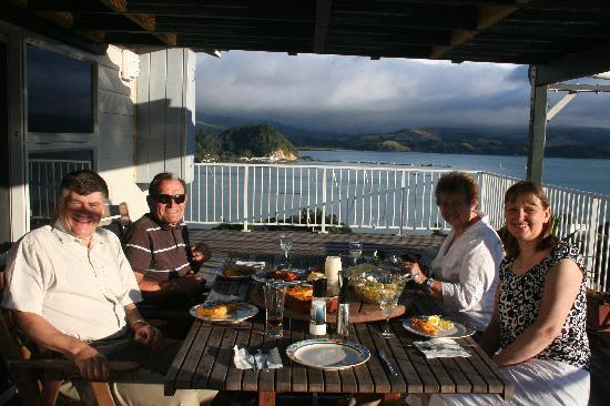 Why Worry Bed & Breakfast: Why Worry Evening Meals on the Deck