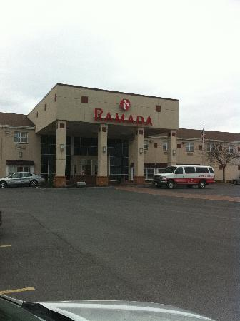 Ramada Inn Syracuse: A Picture of the Front of the Ramada