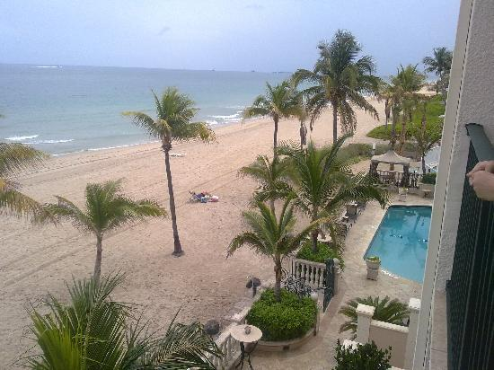 Lauderdale by the Sea, Floride : View from the balcony