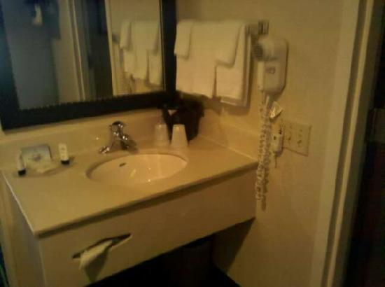 Fairfield Inn Boston/ Tewksbury: Vanity