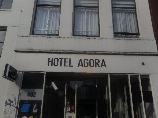 Agora Hotel: From the outside